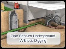 Pipe Repairs Underground